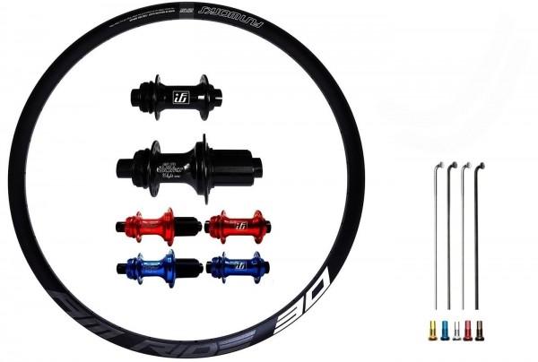 Fun Works N-Light One E-Bike Disc CL Custom Laufradsatz MTB 29er
