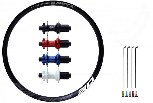 Fun Works N-Light One E-Bike Disc IS Custom Hinterrad MTB 29er
