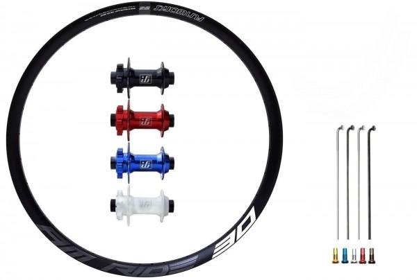 "Fun Works N-Light Boost E-Bike Disc IS Custom Vorderrad MTB 27,5"""