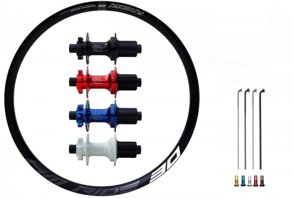 "Fun Works N-Light Boost E-Bike Disc IS Custom Hinterrad MTB 27,5"""