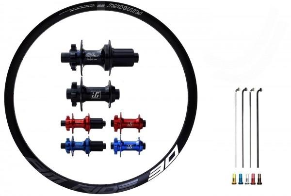Fun Works N-Light One E-Bike Disc IS Custom Laufradsatz MTB 29er