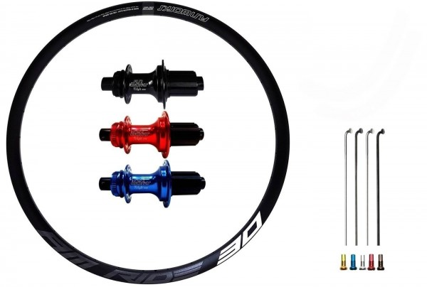 Fun Works N-Light One E-Bike Disc CL Custom Hinterrad MTB 29er
