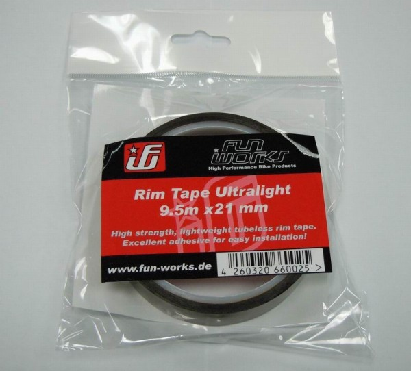 Fun Works Tubeless Felgenband Ultralight 9,5mX21mm
