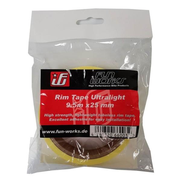 Fun Works Tubeless Felgenband Ultralight 9,5mX25mm