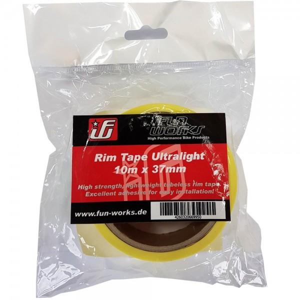 Fun Works Tubeless Felgenband Ultralight 10mX37mm