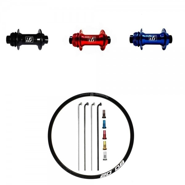 Fun Works N-Light One Disc CL Custom Vorderrad Rennrad disc 700c