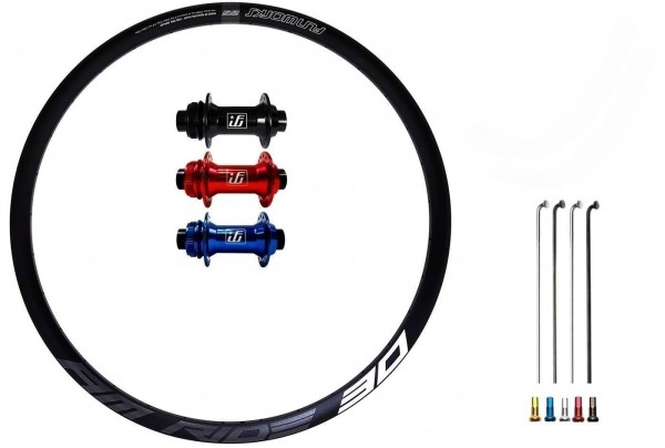 Fun Works N-Light One E-Bike Disc CL Custom Vorderrad MTB 29er